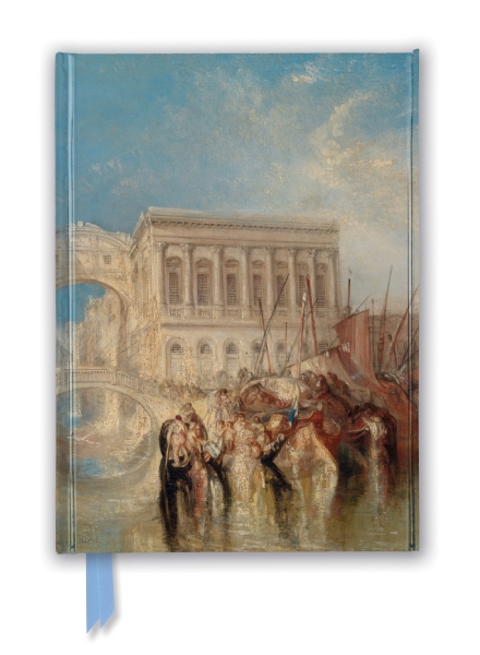 Cover image: Tate: Venice, the Bridge of Sighs by J.M.W. Turner (Foiled Journal)