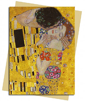 The Kiss (Klimt) Greeting Card