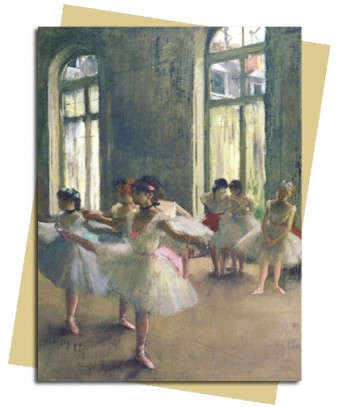 The Rehearsal (Degas) Greeting Card