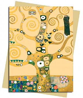 Tree of Life (Klimt) Greeting Card