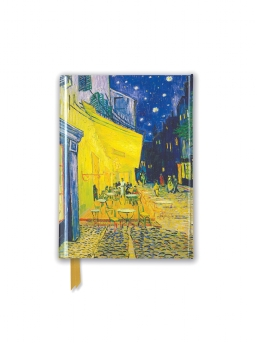 Van Gogh: Café Terrace (Foiled Pocket Journal)