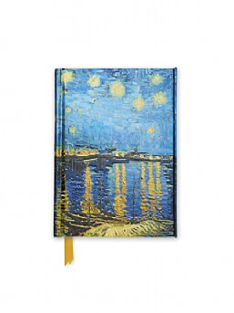 Van Gogh: Starry Night over the Rhone (Foiled Pocket Journal)