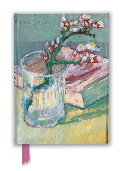 Cover image: Vincent van Gogh: Flowering Almond Branch (Foiled Journal)