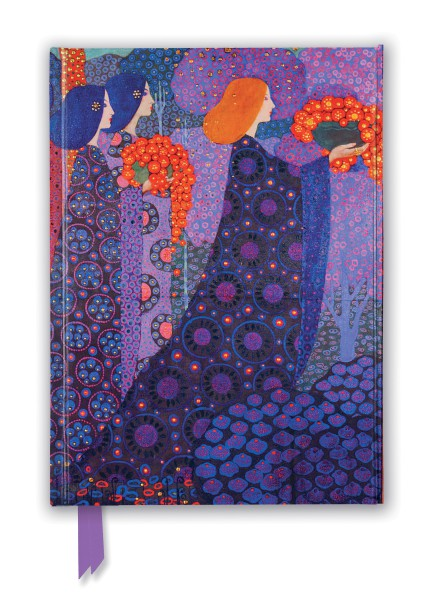 Cover image: Vittorio Zecchin: Princesses from A Thousand and One Nights (Foiled Journal)