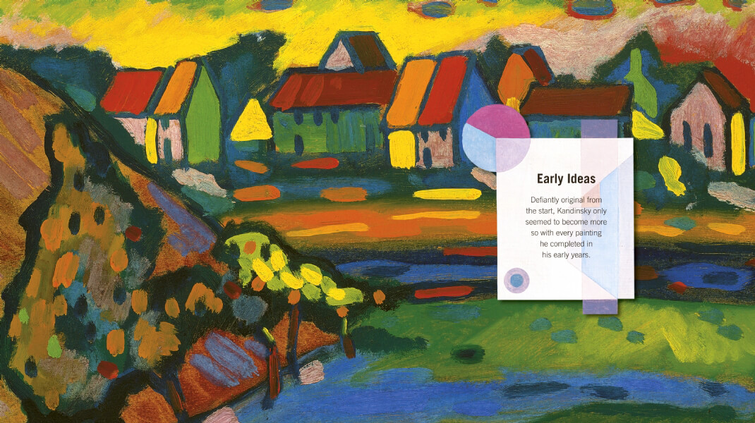 Wassily Kandinsky Masterpieces Of Art Flame Tree Publishing