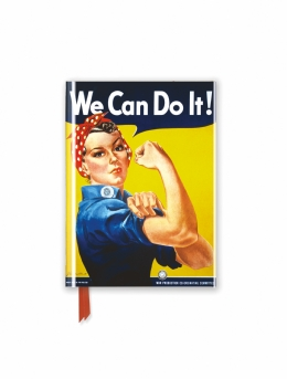 We Can Do it! Poster (Foiled Pocket Journal)