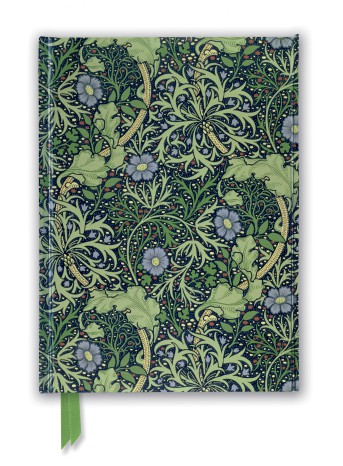 William Morris: Seaweed Wallpaper Design (Foiled Journal)