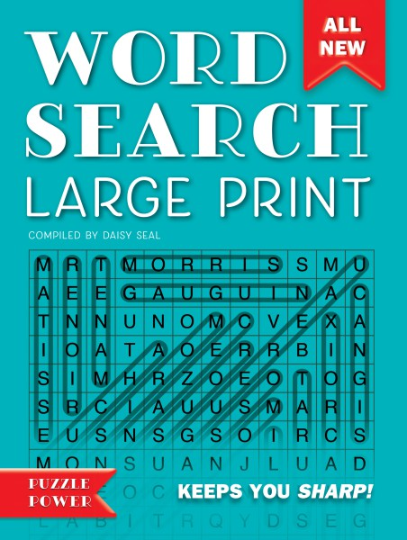 Cover image: Word Search Large Print