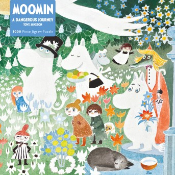 Adult Jigsaw Puzzle Moomin: A Dangerous Journey