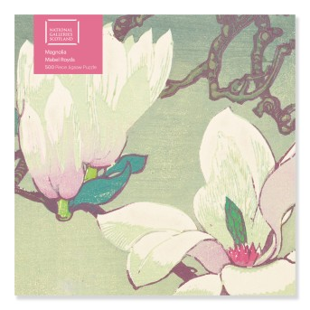 Adult Jigsaw Puzzle NGS: Mabel Royds: Magnolia (500 pieces)