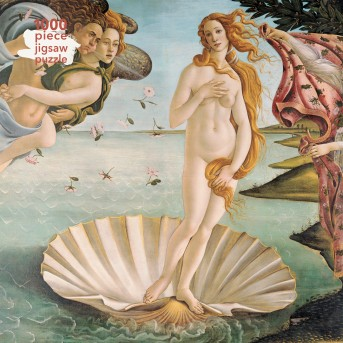 Adult Jigsaw Puzzle Sandro Botticelli: The Birth of Venus