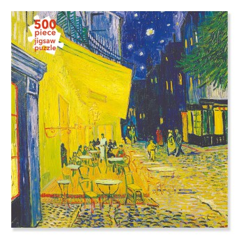 Adult Jigsaw Puzzle Vincent van Gogh: Café Terrace (500 pieces)