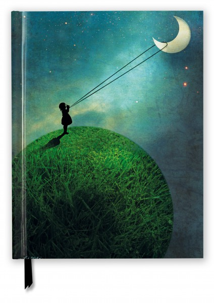 Catrin Weltz-Stein: Chasing the Moon (Blank Sketch Book)