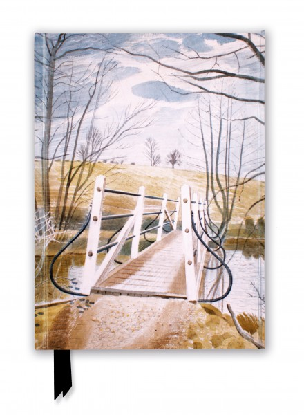 Eric Ravilious: Iron Bridge at Ewenbridge (Foiled Journal)