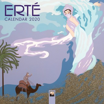 Erte - Mini Wall calendar 2020 (Art Calendar)