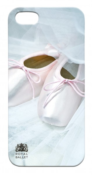 Flame Tree iPhone Case (Royal Ballet Pointe Shoes and Tutu)