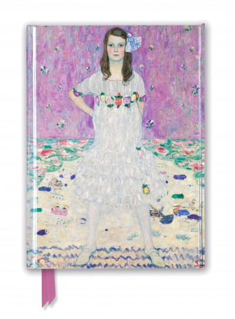 Gustav Klimt: Mäda Primavesi (Foiled Journal)