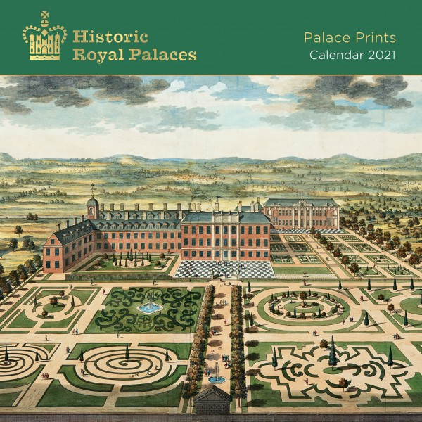 Historic Royal Palaces - Palace Prints Wall Calendar 2021 (Art Calendar)
