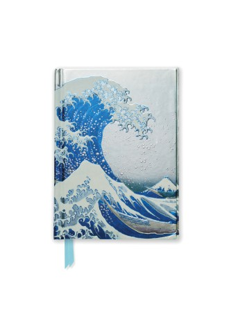 Hokusai: The Great Wave (Foiled Pocket Journal)