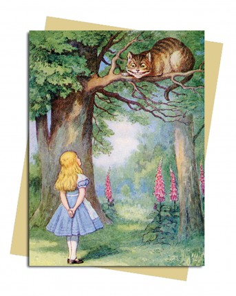John Tenniel: Alice and the Cheshire Cat Greeting Card