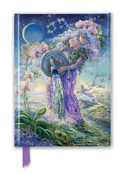 Josephine Wall: Aquarius (Foiled Journal)