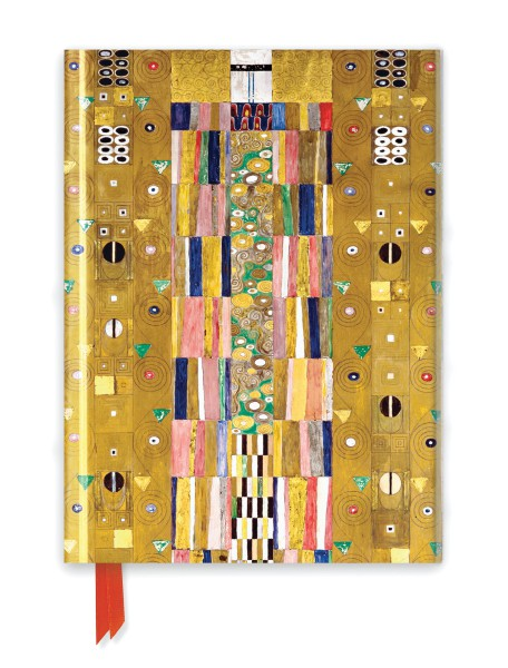 Klimt: Stoclet Frieze (Foiled Journal)