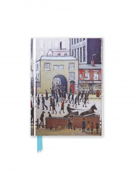 L.S. Lowry: Coming from the Mill (Foiled Pocket Journal)