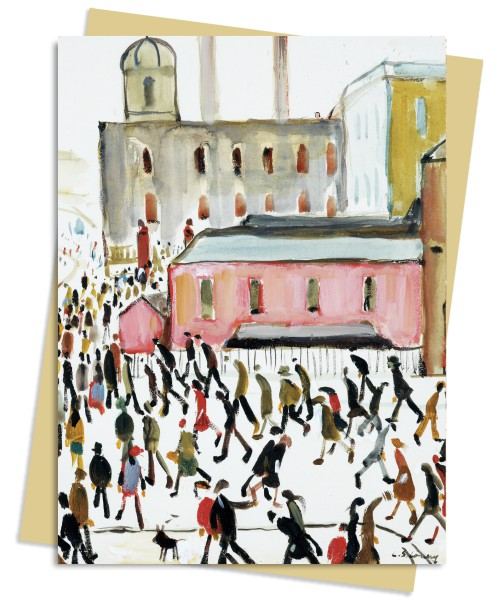 L.S. Lowry: Going to Work Greeting Card Pack