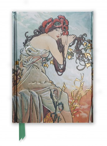Mucha: Summer (Foiled Journal)