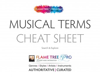Musical Terms Cheat Sheet