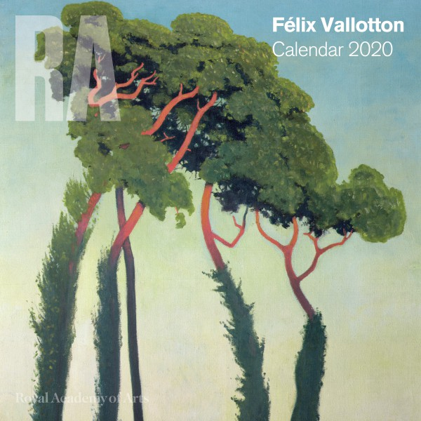 Royal Academy of Arts – Félix Vallotton Wall Calendar 2020 (Art Calendar)