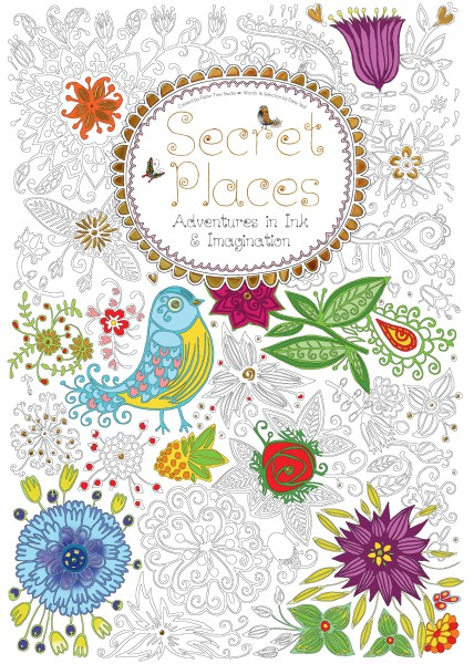 Secret Places (Colouring Book)