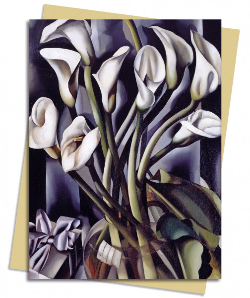 Tamara de Lempicka: Arums Greeting Card