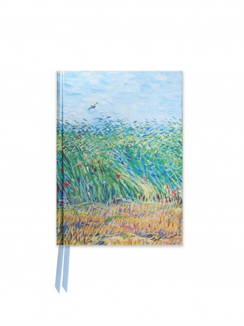 Van Gogh: Wheat Field with a Lark (Foiled Pocket Journal)