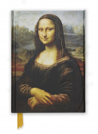 Da Vinci: Mona Lisa (Foiled Journal)