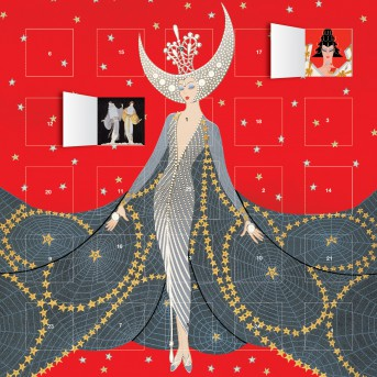 Erte Queen of the Night advent calendar