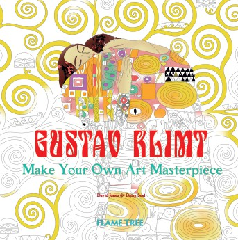 Gustav Klimt (Art Colouring Book)
